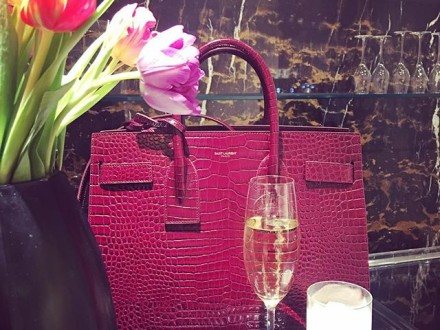 """a great weekend to all  new in ysl bag """" sac de jour """"  @ysl #baglovers #bags #instafashion #inst…"""