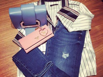 great combination  @sevenforallmankind7 @prada #equipment #sagmeister #sagmeister_women #vorarlbe…
