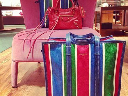 NEW IN @balenciaga SHOPPER BAZAR #baglovers #bag #fashionbag #colors #colorful #women #womenwear …
