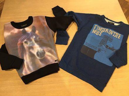 Die neuen Sweatshirts von @fingerinthenose_official sind einfach der Knaller  #kidsfashion #finge…