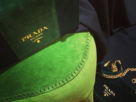 GREEN LOVERS  @prada #baglover #lovebags #prada #instagood #instadaily #instagram #style #stylebl…