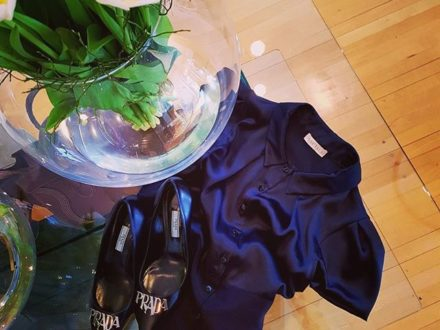 NEW IN @nobitalai @prada @sagmeister_women #newin #new #style #styleblogger #styleinspiration #fa…