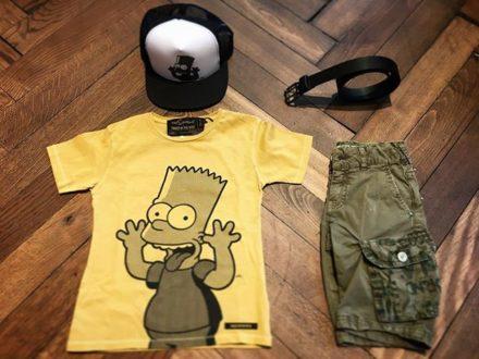 Outfit of the day mit Bart Simpson !  #bartsimpson #fingerinthenose #vingino #cap #boyscap #barts…