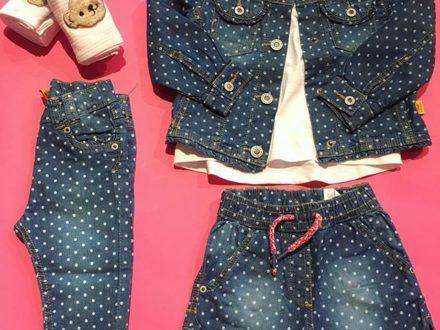 New arrival ! 🤗  #steiff #steiffkidsfashion #jeans #jeansjacke #jeansshorts #pünktchen #dots …