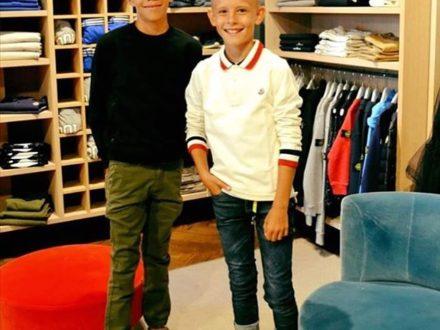BACK TO SCHOOL!!! Das rechts ist Elia's Kumpel Livio. Beide lieben Fußball und sind richtig gute…