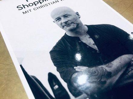 Wir laden Euch ein zu einem ganz besonderen Shopping-Erlebnis ein:  Der Vorarlberger Designer Chr…