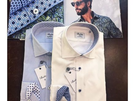 Not just a white shirt, change it up a little through patterns! @stenstroms_official shirt have t…