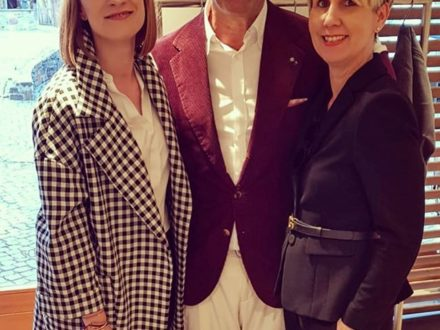 Our beautiful girls yesterday with Brunelli Cucinelli, it was an awesome event @brunellocucinelli…