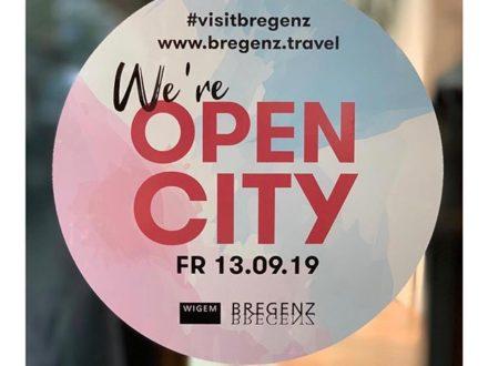 We're Open!  Und am Freitag sogar bis 21.00 Uhr