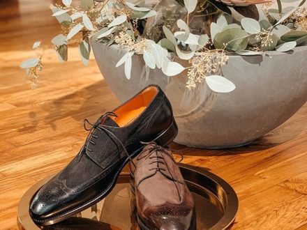 And the love for @santoniofficial continues  they are just the perfect shoes to every outfit  whi…