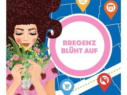 Bregenz blüht auf  Seit kurzem sind die Bregenzer Handelsbetriebe wieder geöffnet – nun kann un…